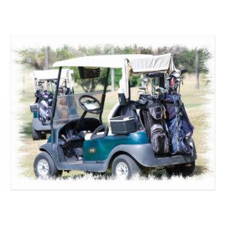 Golfcart  Postcard