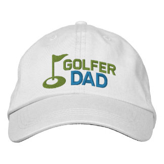 Golfer Dad Embroidered Hat
