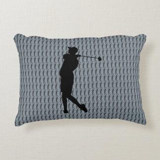 Golfer Decorative Cushion