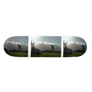 Golfer Design Skateboard