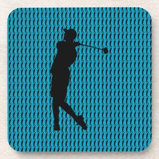 Golfer Drink Coaster