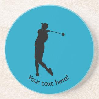 Golfer Drink Coasters