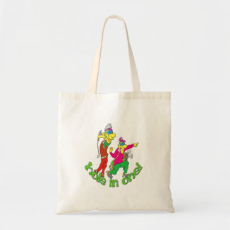 Golfer getting a Hole in one Tote Bag