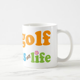 Golfer Gift Girls Coffee Mug