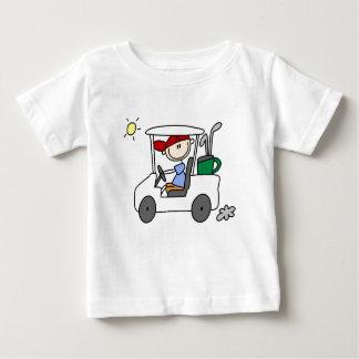 Golfer in Golf Cart T-shirts