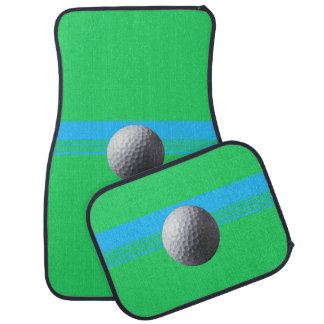 Golfer Inside car mats front and back