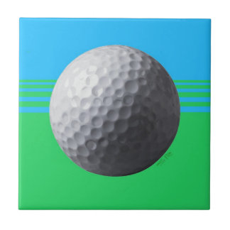 Golfer Inside small tile