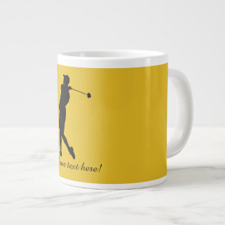 Golfer Large Coffee Mug