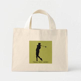 Golfer Mini Tote Bag