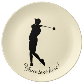 Golfer Plate