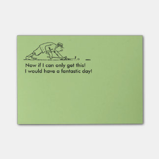 Golfer Post-it-Notes Post-it Notes