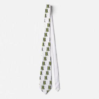 golfer silhouettes golf design tie