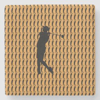 Golfer Stone Coaster