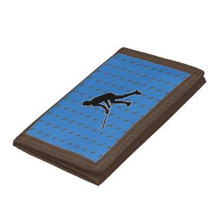 Golfer Tri-fold Wallet