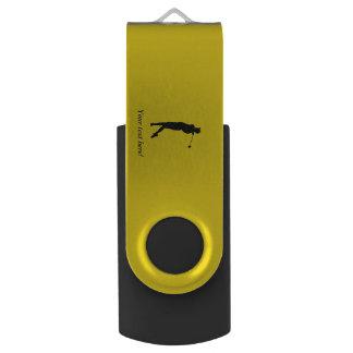 Golfer USB Flash Drive