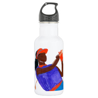 Golfer Woman 532 Ml Water Bottle