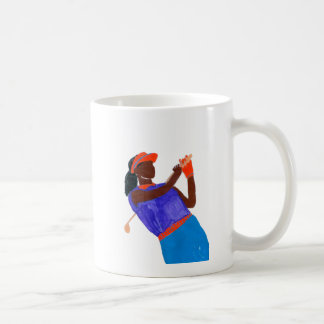 Golfer Woman Coffee Mug