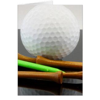 Golfers Card