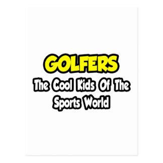 Golfers...Cool Kids of Sports World Post Cards