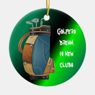 Golfers Gift Collection Ornaments