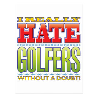 Golfers Hate Post Cards