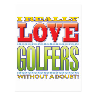 Golfers Love Postcards