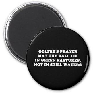 GOLFER'S PRAYER MAGNET