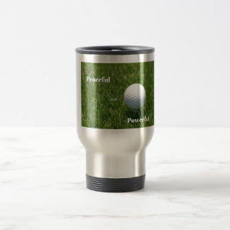 Golfer's Travel Mug