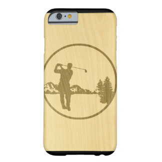 Golfing Barely There iPhone 6 Case