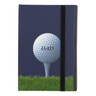 Golfing Dad Golf Ball Monogram iPad Mini 4 Case