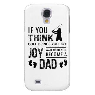 Golfing Dad Samsung Galaxy S4 Cases