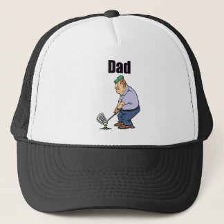 Golfing Dad Trucker Hat