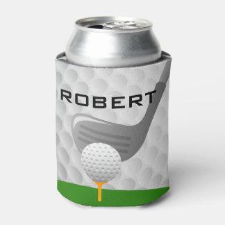 Golfing Design Beverage Bottle Can Cooler