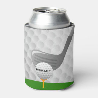 Golfing Design Can Cooler