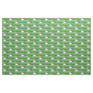 Golfing Design Fabric