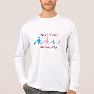 Golfing Family long sleeve tee shirt.