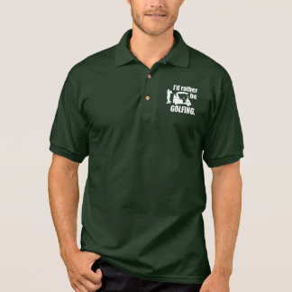 Golfing Geek Polo Shirt