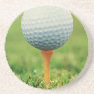 Golfing - Golf Ball on the Tee Coaster