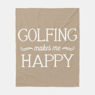 Golfing Happy Blanket - Assorted Sizes & Colors