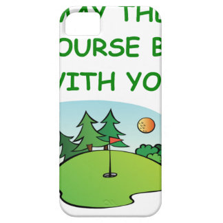 golfing iPhone 5 covers