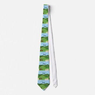 Golfing Neck Tie