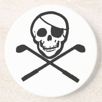 Golfing Pirate Jolly Roger Coasters