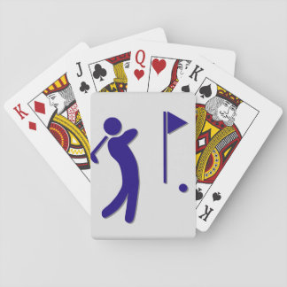 Golfing Playing Cards