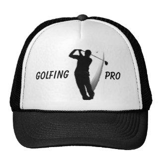 golfing pro hat