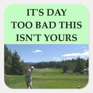 golfing stickers