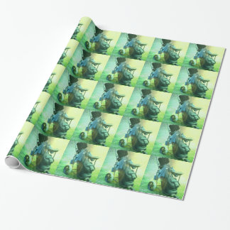 Golfing Wrapping Paper