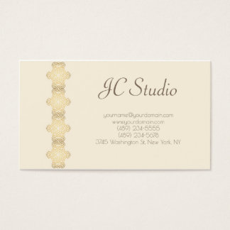 Golg and perishes clean business card