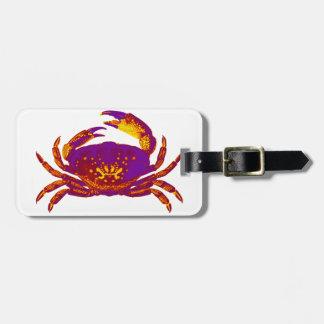 Goliath the Crab Luggage Tag