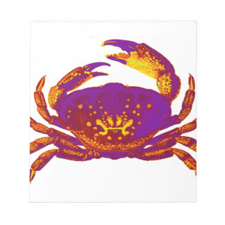 Goliath the Crab Notepad