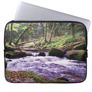 Golitha Falls River Fowey Cornwall England Computer Sleeves